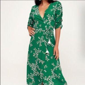 Faithful the brand floral wrap dress